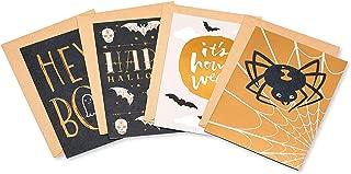 American Greetings Mini Halloween Cards Bundle, Variety (4-Count)
