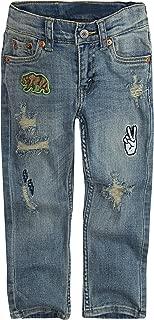 Levi's Boys' 511 Slim Fit Distressed Jeans