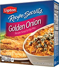 Lipton Recipe Secrets Soup and Dip Mix, Golden Onion 2.6 oz, Pack of 12