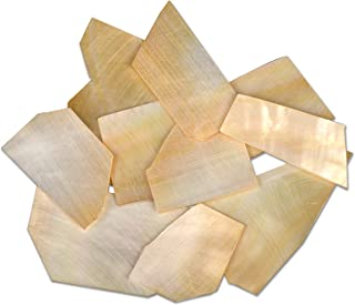 StewMac Pearl Inlay Blanks - 1oz Pack, Gold mother-of-pearl