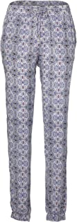 O'Neill Women's Beachy Beach Pants, White AOP W/Blue