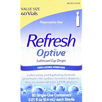 allergan optive eye drops lubricant sensitive preservative free