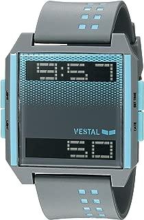 Vestal Unisex DIG037 Digichord Digital Display Quartz Grey Watch