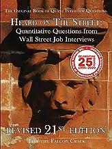 Heard on The Street: Quantitative Questions from Wall Street Job Interviews