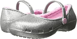 Crocs Kids - Karin Sparkle Lined Clog (Toddler/Little Kid)
