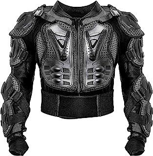 Motorcycle Full Body Armor Protective Jacket ATV Guard...