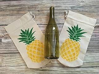 Pineapple Wine, Champagne Beer Gift Bag Set, 2
