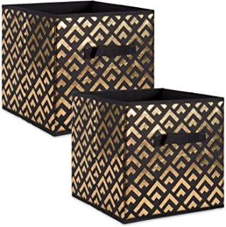 DII Fabric Storage Bins for Nursery, Offices, & Home Organization, Containers Are Made To Fit Standard Cube Organizers (11x11x11