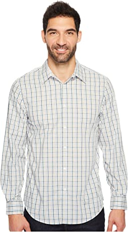 Perry Ellis - Long Sleeve Multiolor Check Shirt