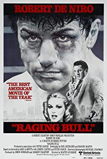 RAGING BULL MOVIE POSTER PRINT APPROX MAAT 12X8 inch