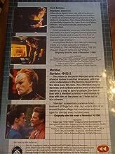 VHS Star Trek Deep Space Nine -Civil Defense & Meridian - Columbia House Collector's Edition VHS