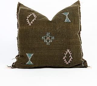 Moroccan Cactus Silk Pillow :: 20