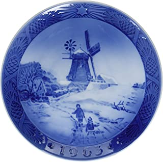 1963 Royal Copenhagen Christmas Plate - Hojsager Windmill
