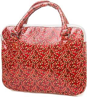 Maletin para tablet flores rojo: Amazon.es: Equipaje