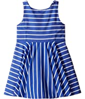 Polo Ralph Lauren Kids - Yarn-Dyed Cotton Sateen Stripe Dress (Toddler)