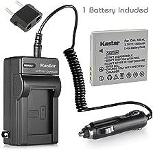 Kastar Battery + Charger for Canon NB-4L NB4L CB-2LV 2LVE and Digital IXUS 30 40 50 55 60 65 75 Digital IXUS i Zoom Digital IXUS i7 Zoom Cameras