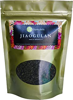 Sponsored Ad - Jiaogulan Tea (Gynostemma Pentaphyllum) by Majestic Herbs | Organic Best Quality Pure Loose Leaf