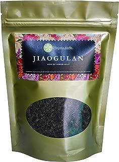 Jiaogulan Tea (Gynostemma Pentaphyllum) by Majestic Herbs | Organic Best Quality Pure Loose Leaf