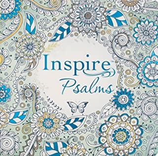 Tyndale Inspire Psalms (Softcover): Creative Coloring Bible Journaling , Includes Entire Book of Psalms-Connect with God's...