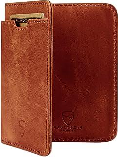Vaultskin - Portafoglio CITY con Protezione da RFID, In Pelle Italiana di Alta Qualità, Ultra Sottile, Contiene Fino a 9 T...