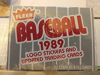 1989 Fleer Update Set (MLB - Baseball - 132 Cards) (Factory Sealed)