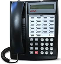 $78 » Avaya Partner 18D Euro Set – Black, Refurbished, Six Month Warranty