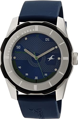 Fastrack Economy 2013 Analog Blue Dial Men S Watch NM3099SP05 NL3099SP05