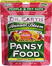 product image for Dr. Earth 70518 Mini Annual Bloom Flower Garden Pansy Fertilizer 1lb, Magenta
