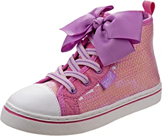 JoJo Siwa Girls Hi-Top Glitter Sneakers (Little Kid/Big Kid)