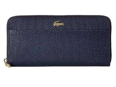 Lacoste Chantaco Large Zip Wallet (Marble/Cliff/Cliff) Wallet Handbags