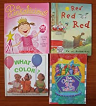 Colors (Teacher Unit): Set of 4 Children's Picture Books (Pinkalicious ~ The Crayon Box That Talked ~ Red Red Red ~ What Color?)