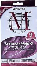 Condones M Force + Multi O 9 piezas