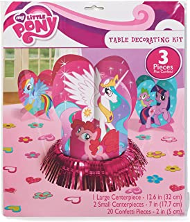 Table Decorating Kit | My Little Pony Friendship Collection | Party Accessory