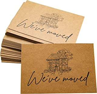 RXBC2011 We've Moved Postcards Moving Announcement Cards Pack of 50