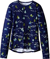 Hot Chillys Kids Original 2 Print Crew Neck (Little Kids/Big Kids)