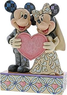 Enesco Jim Shore Disney Traditions Mickey and Minnie Wedding Figurine 4059748