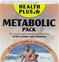 Health Plus Metabolic Pack Energy and Slimmers Daily Supplement – 28 Day Supply Estimated Price : £ 16,45