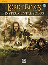 The Lord of the Rings, The Motion Picture Trilogy, w. Audio-CD, for Clarinet: The Motion Picture Trilogy (incl. CD)