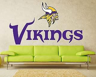Minnesota Vikings sticker, Minnesota Vikings decal, Vikings decal, Vikings sticker, Minnesota Vikings home decor, Minnesota, Vikings bumper sticker, Vikings NFL sticker, vmb01 (10x20)