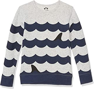 Boy's Striped Crew Neck - Suns Out, Fins Out (Toddler/Little Kids/Big Kids)