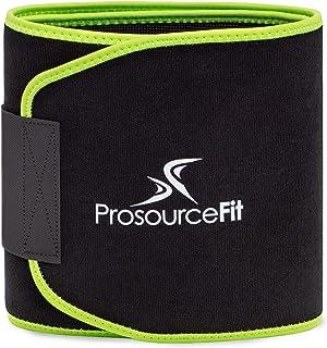 """ProsourceFit Waist Trimmer Belt (9""""x46"""", 10""""x51"""", 10""""x60"""") Lightweight Abdominal Trainer for Women and Men, Slim Waist Bel..."""