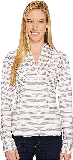 Acadia Stretch Hooded Long Sleeve Shirt