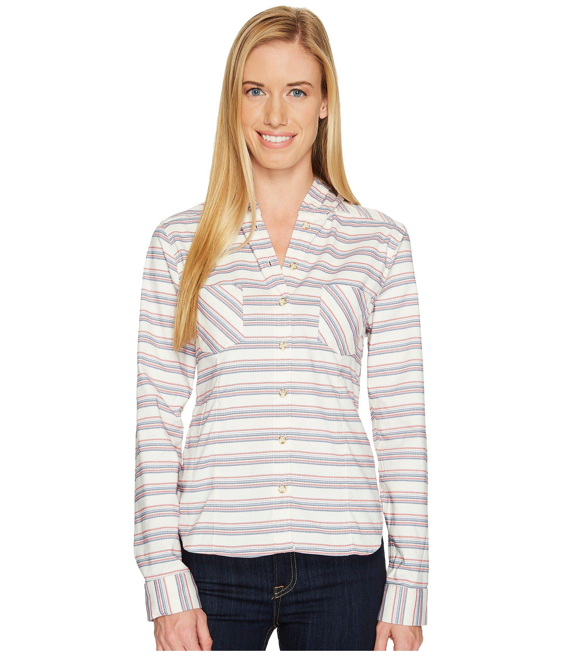MOUNTAIN HARDWEAR Acadia Stretch Hooded Long Sleeve Shirt, Cotton