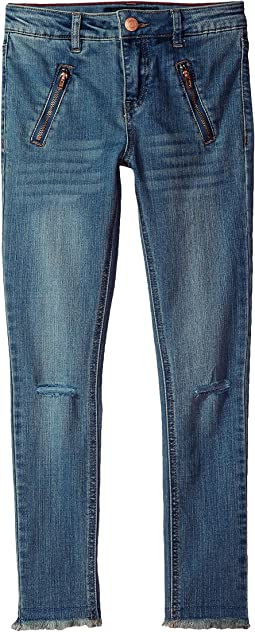 Tommy Hilfiger Kids - Fashion Moto Jeggings (Little Kids/Big Kids)