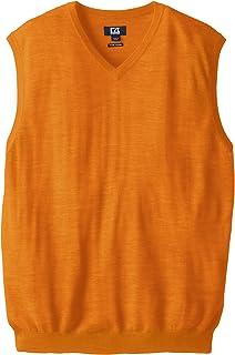 d5caf9d2c60ce9 Cutter   Buck Men s Big and Tall Douglas V-Neck Sweater Vest