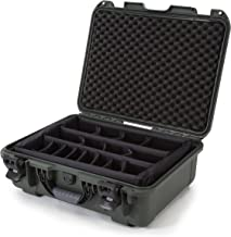 Nanuk 930 Waterproof Hard Case with Padded Dividers - Olive