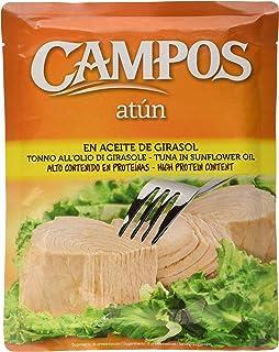 CAMPOS Conserva de atún en aceite de girasol pouch bolsa de 500 gr