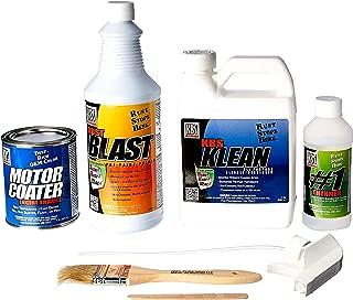 KBS Coatings 58001 Chevy Orange Motor Coater Engine Paint Kit