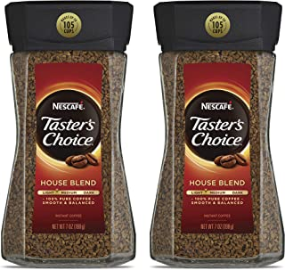 Sponsored Ad - Nescafe Taster's Choice House Blend Instant Coffee, 7 Ounce (Pack of 2)