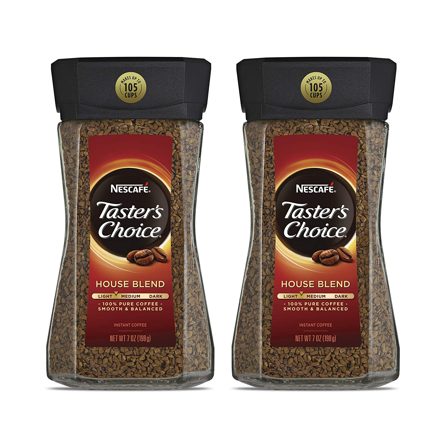 Department store Nescafe Taster's Choice Super special price House Blend 7 Coffee Ounce Pac Instant